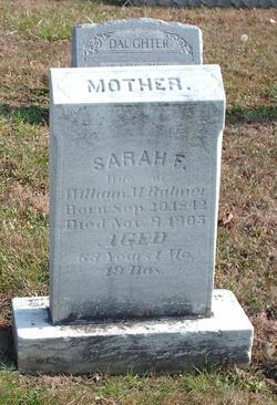 Sarah F <i>Zeller</i> Balmer