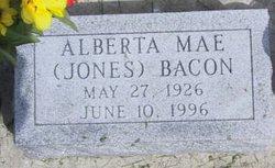 Alberta Mae <i>Jones</i> Bacon