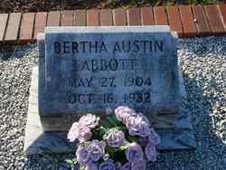 Bertha Beatrice <i>Austin</i> Abbott