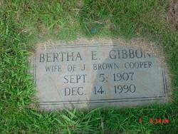 Bertha E. <i>Gibbon</i> Cooper