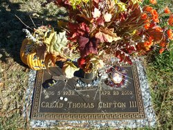 Cread Thomas Clifton, III