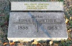 Edna Ione <i>Kenney</i> Lowther