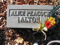 Alice <i>Peacock</i> Alton