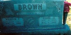 William P Brown