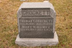 Mary White <i>Everett</i> Crockett
