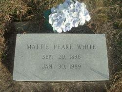 Mattie Pearl <i>Bentle</i> White