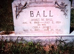 Celia Malinda <i>James</i> Ball