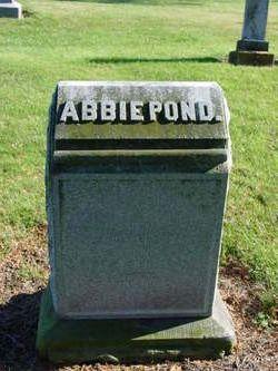Abigail <i>Doty</i> Pond
