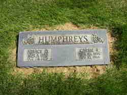 Carrie <i>Reynolds</i> Humphreys