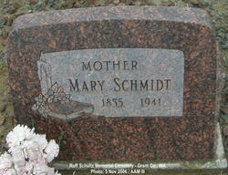 Maria <i>Senner</i> Schmidt