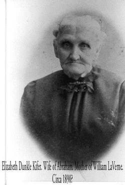 Mary Elizabeth <i>Dunkle</i> Kifer