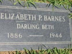 Elizabeth Pearl <i>Hatch</i> Barnes