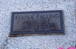 Elvina <i>Cook</i> Falling