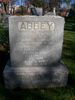 Cornelia <i>Schenck</i> Abbey