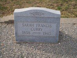 Sarah Francis Curry