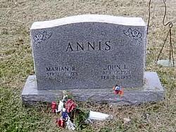 Marian <i>R.</i> Annis