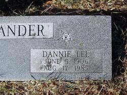 Dannie Lee Alexander