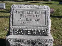 Jane H <i>Potter</i> Bateman
