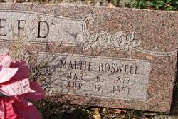 Mattie <i>Boswell</i> Reed