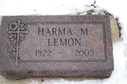 Harma Marilyn <i>VonHout</i> Lemon