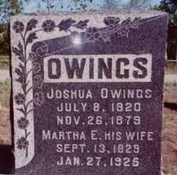 Joshua Holcomb Owings