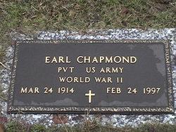 Earl Chapmond