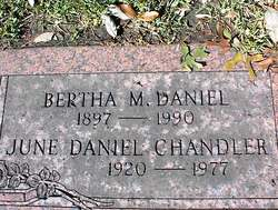 Virginia June <i>Daniel</i> Chandler