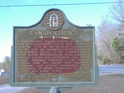Ramah Baptist Church Cemetery