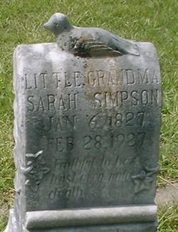 Sarah <i>Worthington</i> Simpson