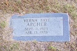 Verna Faye <i>Brooks</i> Archer