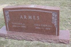 John Carroll Armes