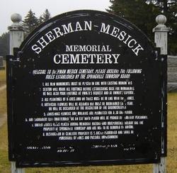 Sherman-Mesick Memorial Cemetery