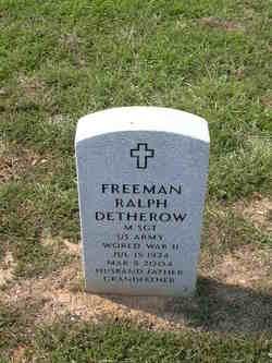 Freeman Ralph Detherow
