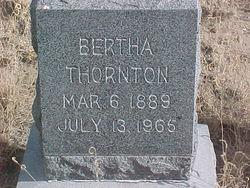 Bertha <i>Brakeman</i> Thornton