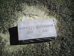 Harriett Alexander
