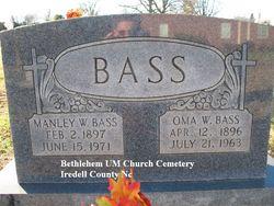 Manley Wilson Bass, Sr