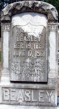 Mary Hallie <i>Jackson</i> Beasley