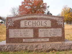 Miriam <i>Allgood</i> Echols