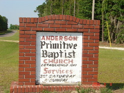 Old Anderson Church Cemetery