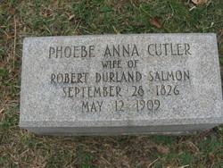 Phebe Anna <i>Cutler</i> Salmon
