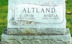 Charles Oram Altland