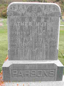 Leona Odessa <i>Curtis</i> Parsons