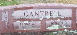 Salinda Abigail Lenna <i>Shumate</i> Cantrell