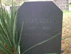 Olivia F <i>Toney</i> Stinson