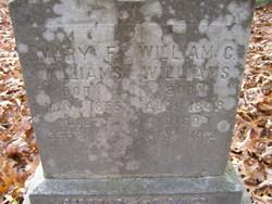 Mary F <i>Abel</i> Williams