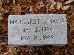 Margaret L Davis