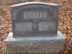 Nora V <i>Williams</i> Davis