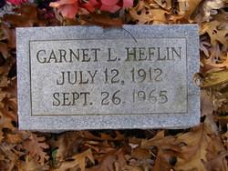 Garnet L Heflin