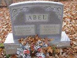 Sarah E Abel
