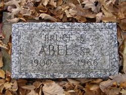 Bruce E Abel, Sr